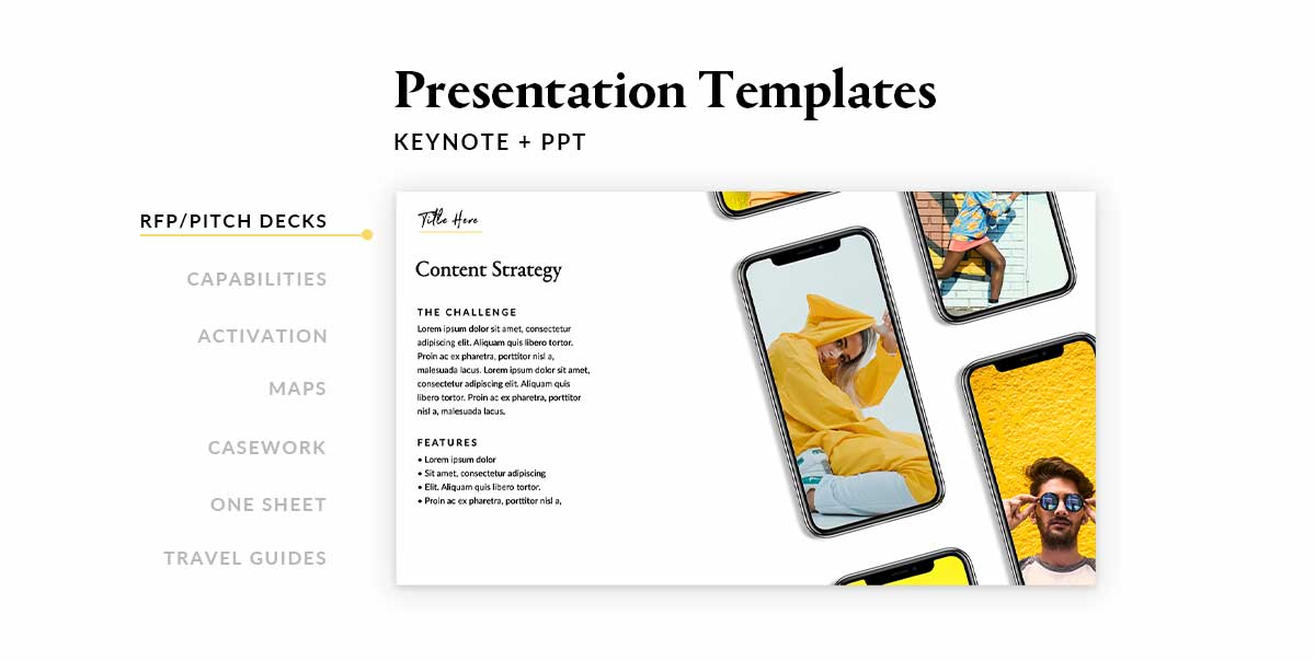 BMF Presentation Template Capabilities Deck