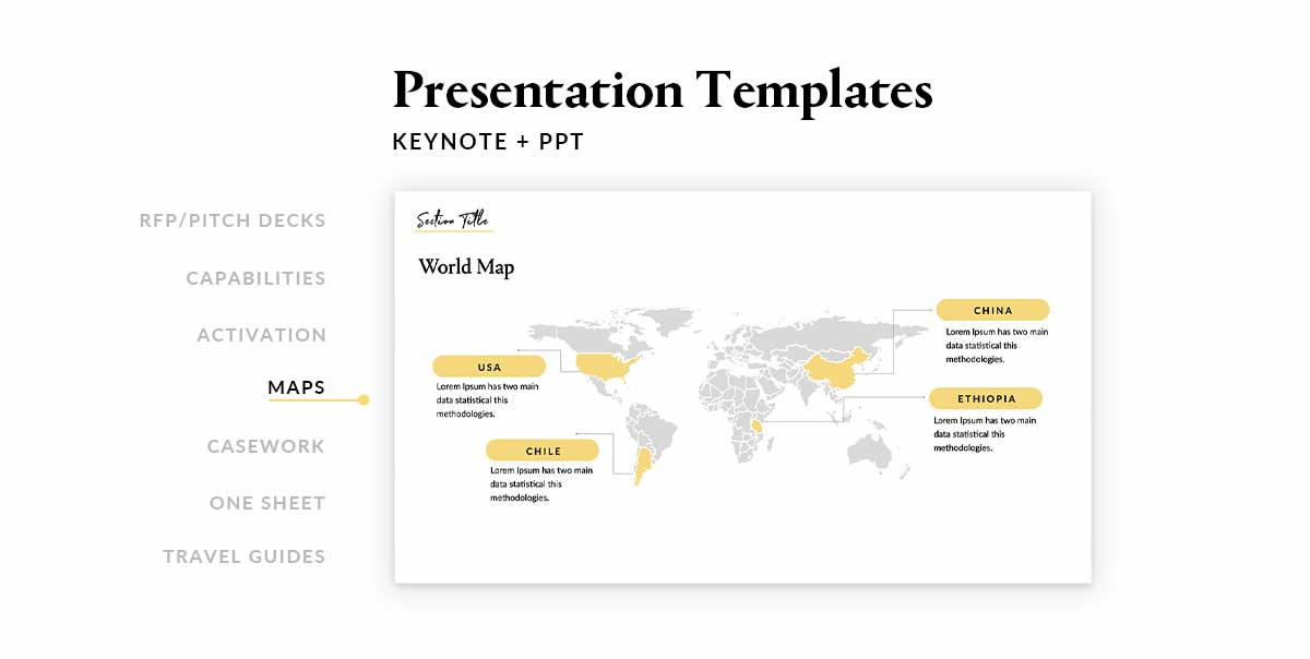 Presentation Template Designer