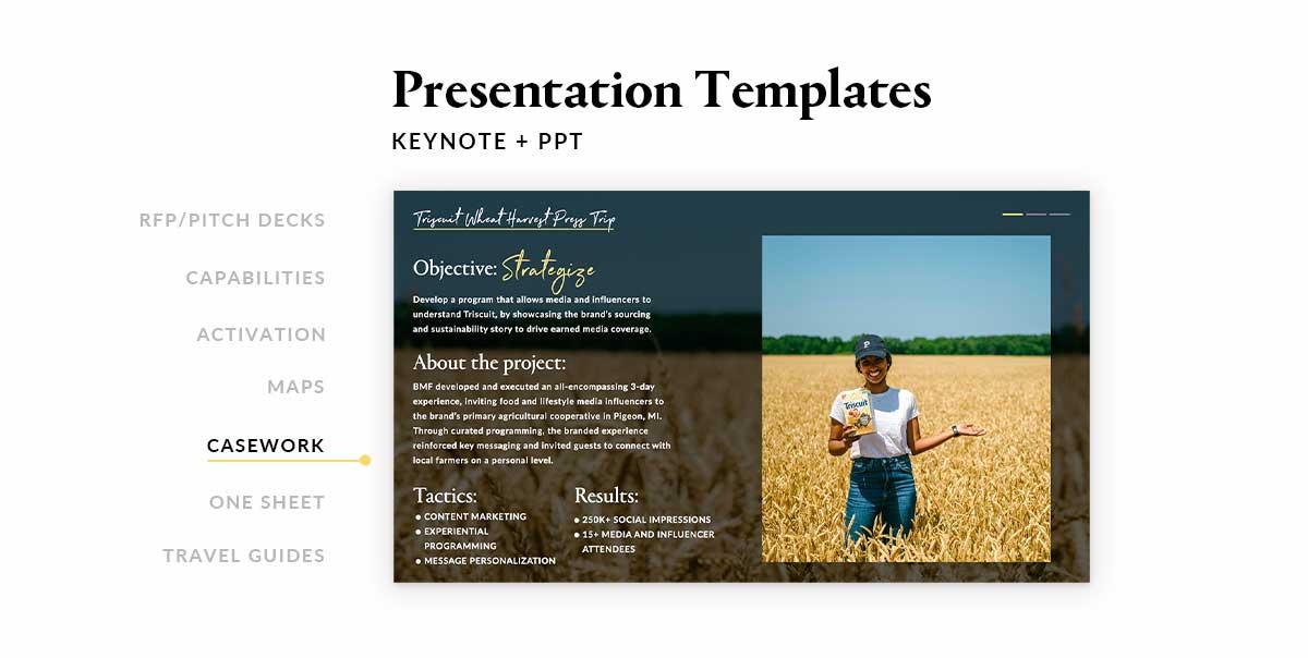 Presentation Template Design Specialist