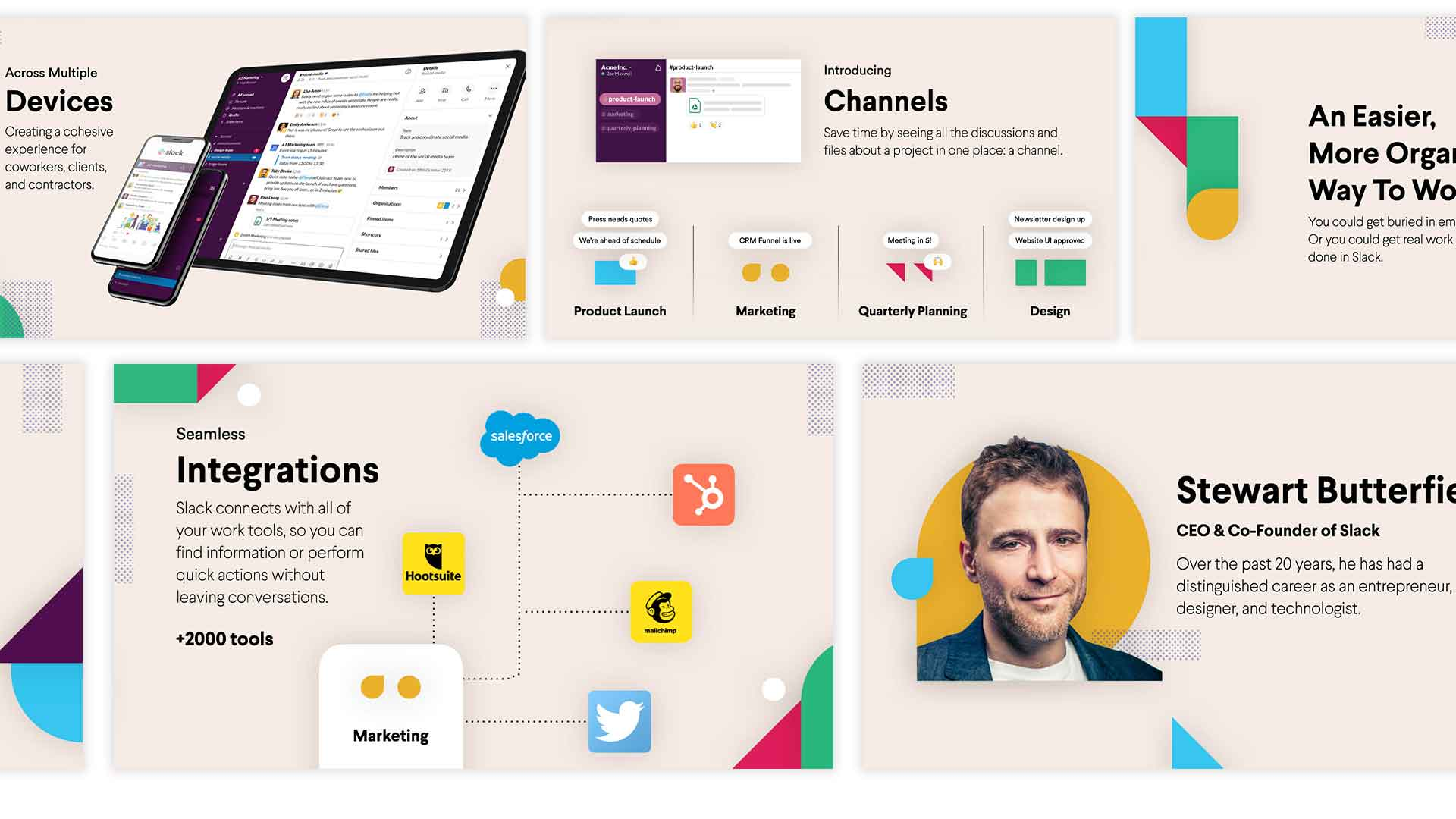 Animated Slack Presentation